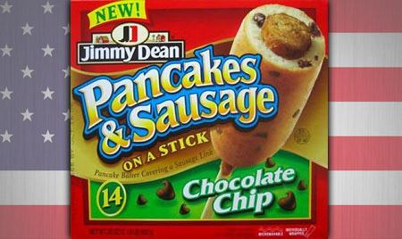 Pancake sausage