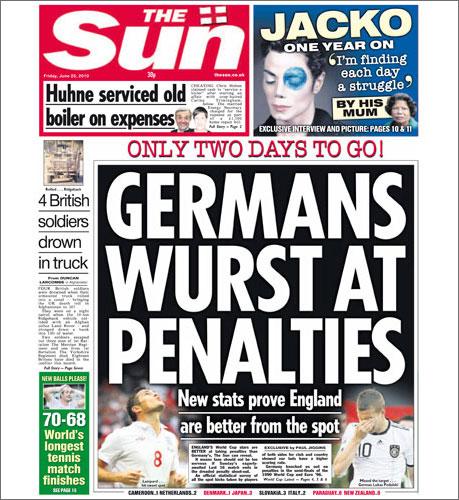 The Sun: Deutschland ist ne Wurst
